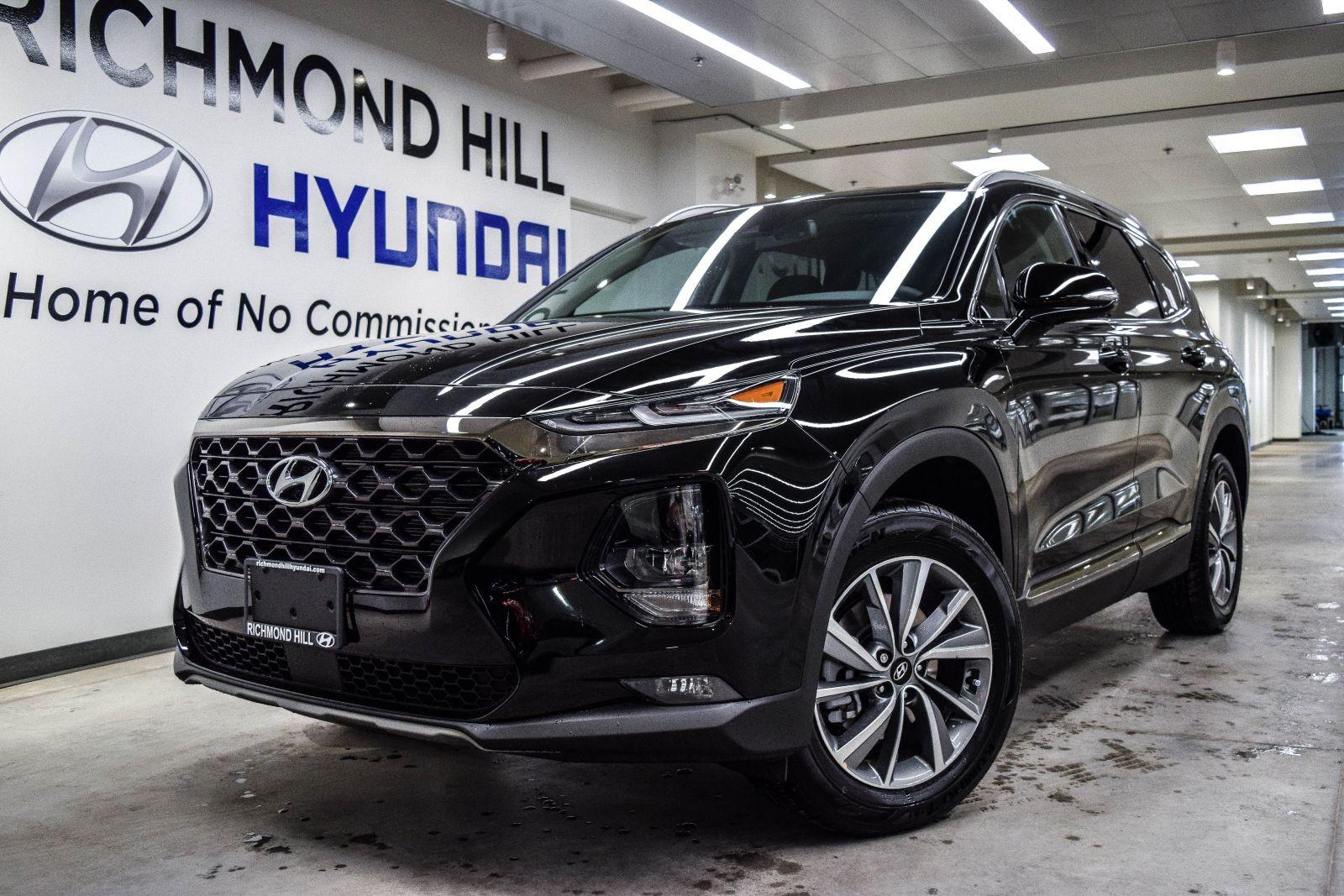 2019 Hyundai Santa Fe Sport Black