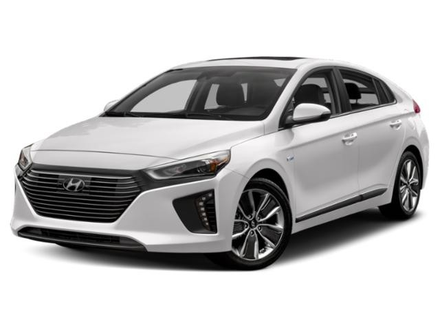 2019 Hyundai Ioniq Hybrid Luxury Hatchback  - Leather Seats - $160.74 B/W