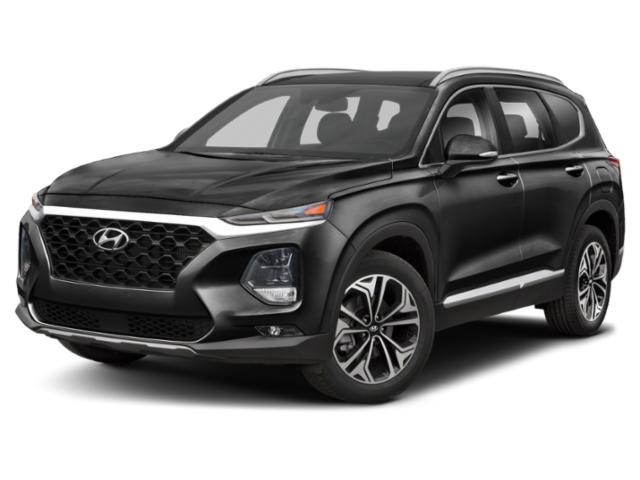 2019 Hyundai Santa Fe 2.0T Ultimate w/Dark Chrome Accent AWD  - $238 B/W